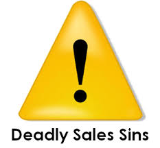 Deadly sales sins to avoid in 2017